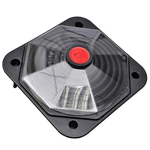 Calefactor solar para piscina, 735 W, con accesorios, alta eficiencia, 71,5 x 71,5 cm