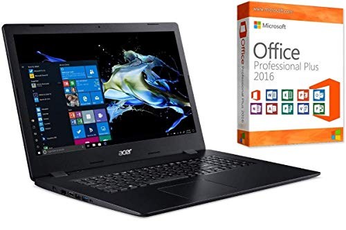 Notebook Aspire A317 - Intel Core i7-10510U - 32GB-RAM - 2000GB NVMe SSD - CD/DVD Brenner - Windows 10 + MS Office 2016 Pro - 44cm (17.3