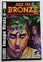 SIGNED Eric Shanower AGE OF BRONZE The Story Of The Trojan War IMAGE FIRSTS #1