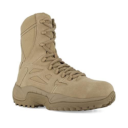 Reebok Work Men's Rapid Response RB8894 Safety Boot,Tan,11 M...