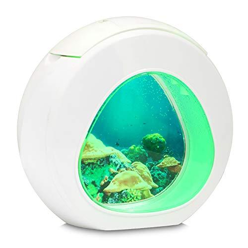 Fitbitt LED Lampe Nachtlicht - Jellyfish Lampe Kreative Bunte wechselnde Nachtlicht Künstliche Quallen Schwimmen Aquarium Meer Welt Stimmung Lampe für Kinder Geschenke Dekoration