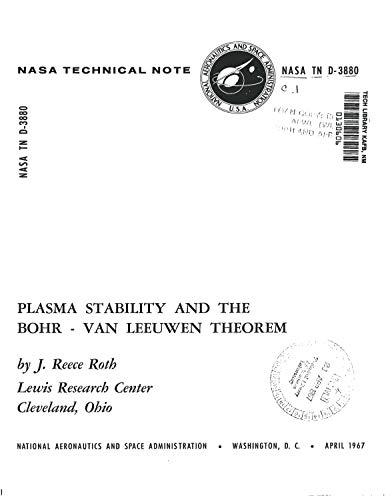 Plasma stability and the Bohr-Van Leeuwen theorem (English Edition)