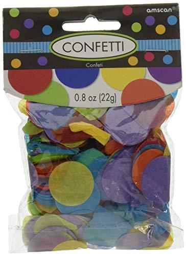 Amscan 12 Rainbow Pack de sacs en papier 12.7 cm x 24 cm X 7.6 cm