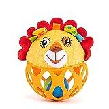 KLOVA 1PC Interactive Stimulation Plüschringe Greifball Spielzeug Geschenk für Baby & Kleinkind...