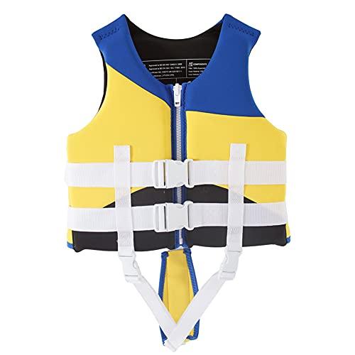 LIMESI Chaleco de natación para niños Chaqueta Flotante Chaleco de natación para niños pequeños Chaleco de Entrenamiento de natación para 10-30 kg Bebé/Niños-M