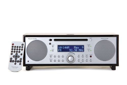 Tivoli Audio Model Music System Radio / CD-Player Kombination schwarz/silber