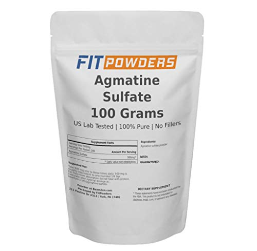 Powder City Agmatine Sulphate Powder (100 Grams)