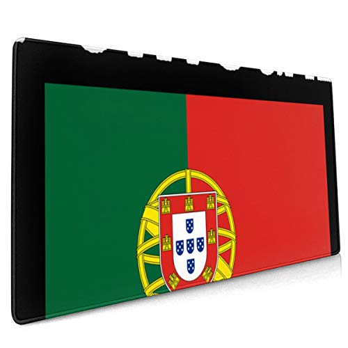 Extend Moursepad Portugal Flag 40 X 90 CM Mouse Mat Soft Mice Computer Keyboard Pad Desk Mat with Non-Slip Rubber Base