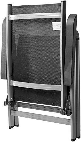 AmazonBasics - Terassenstuhl, 5-Stufen verstellbar, Doppelpack