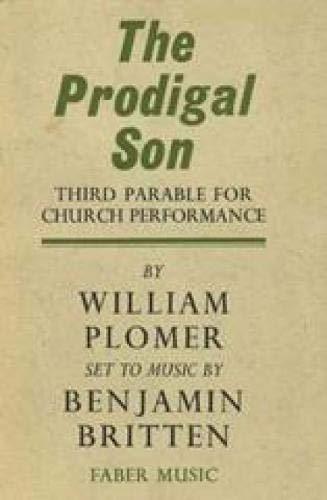 The Prodigal Son: Libretto