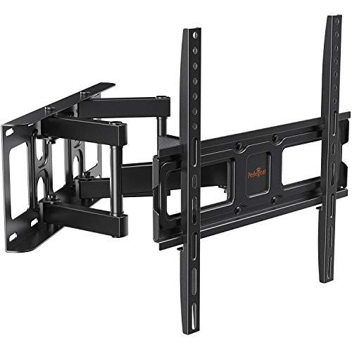 Perlegear - Soporte de Pared para televisores de 26 a 55 Pulgadas (LED, LCD, OLED, Plano y Curvado, máximo VESA, 400 x 400 mm)