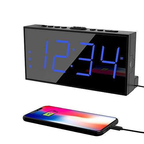 Digital Dual Alarms Clock