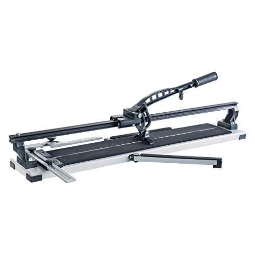 LUX-TOOLS FSM-800 Fliesenschneider Professional | Fliesenverlegewerkzeug für Fliesen bis zu 14 mm Stärke | mit Hartmetall-Schneidrad und Schnittlänge von 80 cm
