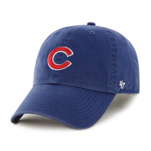 Chicago Cubs 47 Brand MLB Clean Up Adjustable Hat - Royal Blue