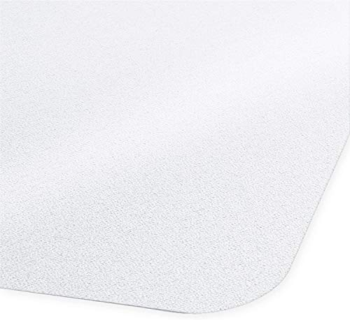 """Desk Chair Mat for Hardwood Floor - Hard Floor Protection Mat for Office & Home   Many Sizes Available   Clear - 48"""" x 48"""""""