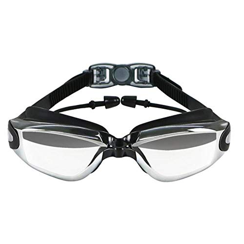 XHSSF Occhialini da Nuoto Occhialini Nuoto Graduati Miopia per Adulti con Protezione Anti-Appannamento E Anti-UV Occhialini da Nuoto Silicone Occhialini Piscina per Donna Uomo-600