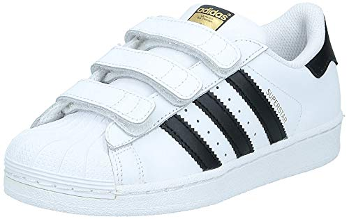 adidas Superstar Foundation CF, Zapatillas Unisex niños, Blanco (Footwear White/Core Black/Footwear White 0), 30 EU
