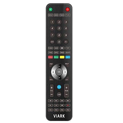 Viark Mando a distancia para receptor Vuga/Viark, color negro