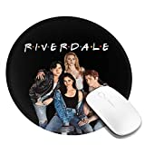 23 Riverdale-FriendsPersonalized Non-Slip Rubber Base Mouse Pad for Custom Round Mouse Pads for Offices and Homes