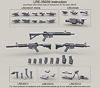 アメリカ海軍 Mk.18 ライフル LiveResin ライブレジン[LRE35039] US Navy Seals Weapon Mk.18 Rifle (CQBR)