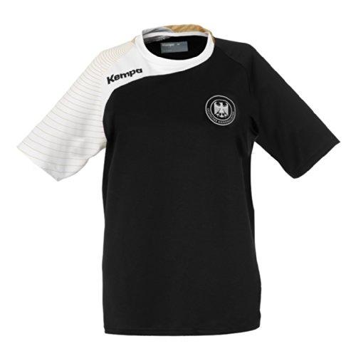 Kempa T-Shirt DHB Circle Replika, Schwarz, XXS