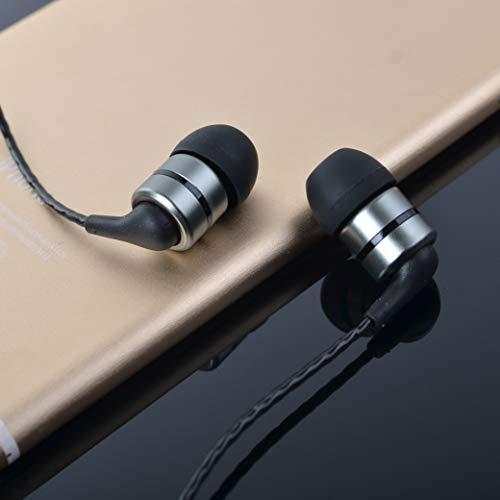 SoundMAGIC E80S Isolierende In-Ear Ohrhörer mit Mikrofon/S-Schalter silber