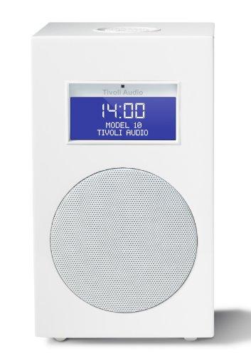 Tivoli M10-1017-EU Model 10 UKW/MW Wecker Radio frost white