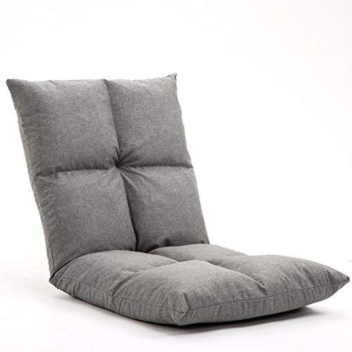 YANYDO Plancher Se Pliant de Jeu de Chaise de lit Lazy Se Pliant réglable de canapé-lit de Divan-lit L52 × H52cm (Couleur : E)
