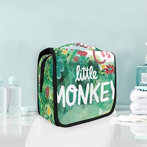 FAJRO Little Monkey Grande trousse de toilette de voyage polyvalente à suspendre