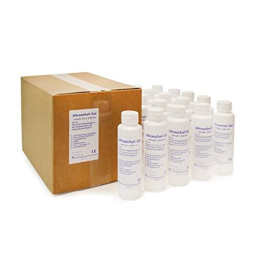 Ultraschallgel | KK Kontaktgel | Sonogel | 24 x 250 ml Flasche