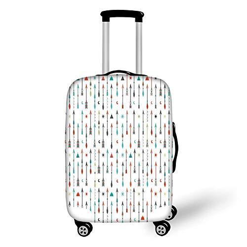 Travel Luggage Cover Suitcase Protector,Arrow Decor,Traditio
