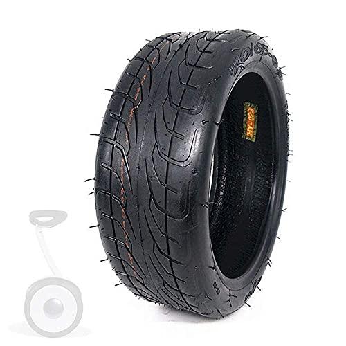 Neumáticos para vehículos eléctricos, 70 / 65-6.5 Neumáticos antideslizantes resistentes al desgaste, Neumáticos de vacío engrosados 6pr, compatibles con 9 neumáticos de equilibrio para automóviles