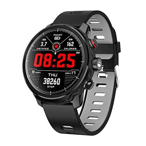 Rejoicing L5 IP68 Impermeabile Braccialetto Intelligente Fitness Smart Watch Sport smartwatch per Android iOS Touch Touch LED Illuminazione Gestione Salute sincronizzazione Informazioni Nero