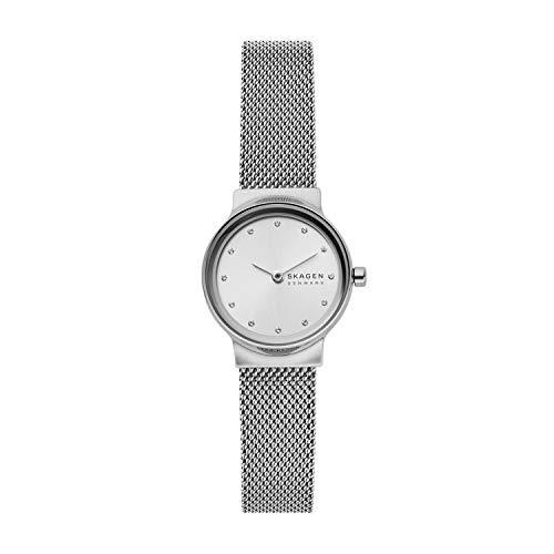 Skagen Damen Analog Quarz Uhr mit Edelstahl Armband SKW2715