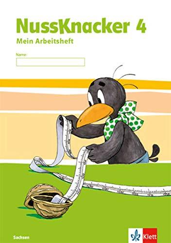 Nussknacker 4. Ausgabe Sachsen: Arbeitsheft Klasse 4 (Nussknacker. Ausgabe für Sachsen und Thüringen ab 2015)