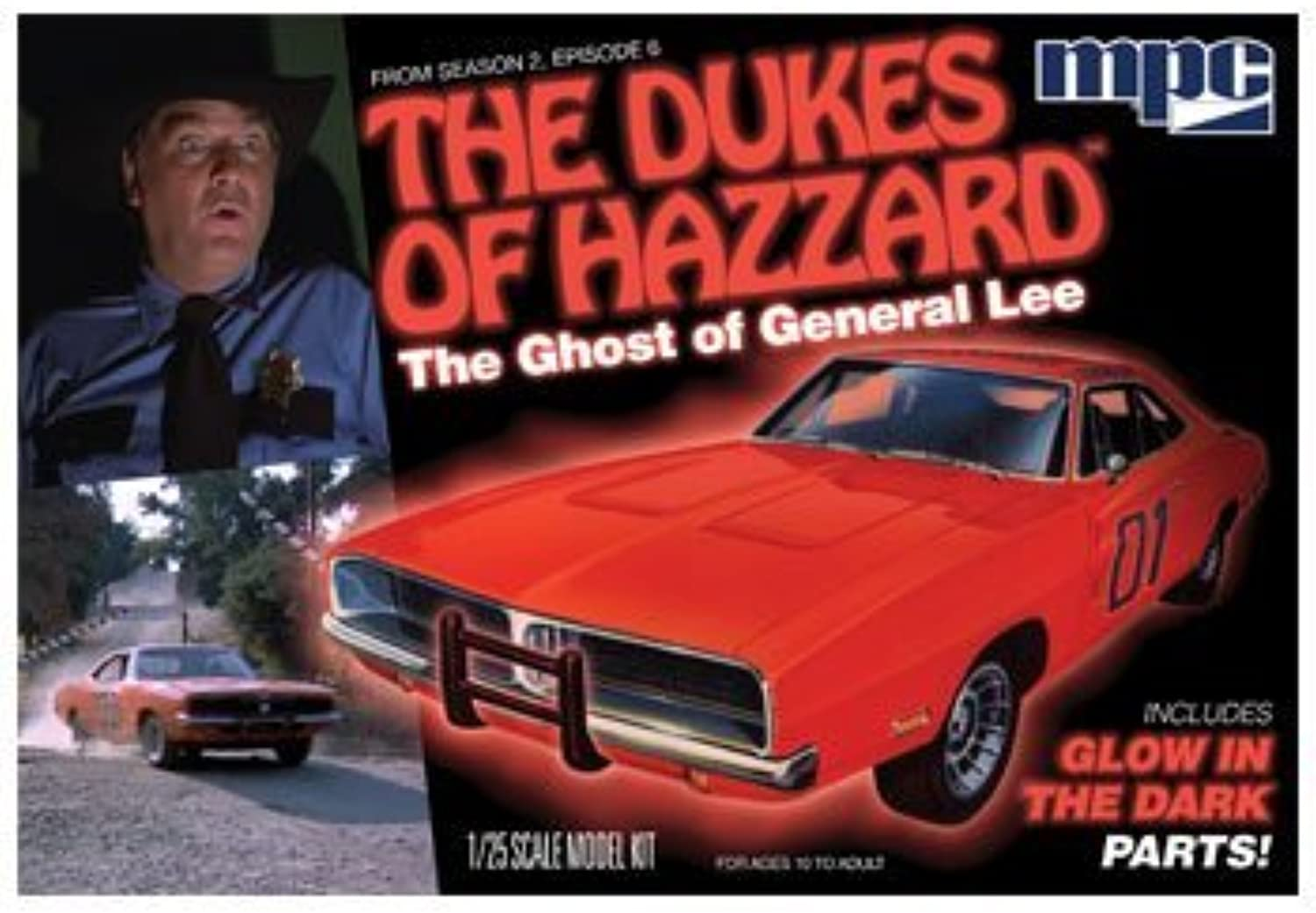 MPC MPC754 1 25 Ghost Of General Lee by MPC