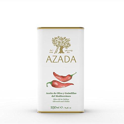 Azada Chili aromatisiert extra reines olivenöl 250ml