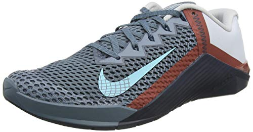 Nike Herren Metcon 6 Laufschuh, Ozone Blue/Bleached Aqua-Pure, 43 EU