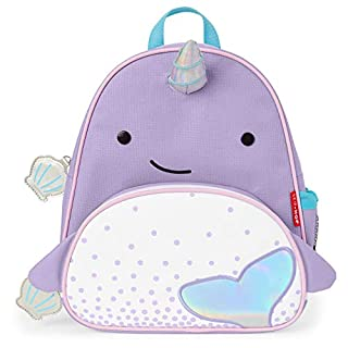 "Skip Hop Toddler Backpack, 12"" School Bag, Narwhal (B07N1PH918) 