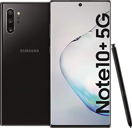 Samsung Galaxy Note 10+ Plus 5G SM-N976B 17,3 cm (6.8') 12 GB 256 GB SIM Singola Nero 4300 mAh Galaxy SM-N976B, 17,3 cm (6.8'), 12 GB, 256 GB, 12 MP, Android 9.0, Nero (Ricondizionato)