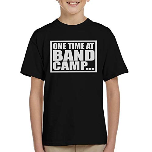 Cloud City 7 One Time bij Band Camp American Pie Kid's T-shirt
