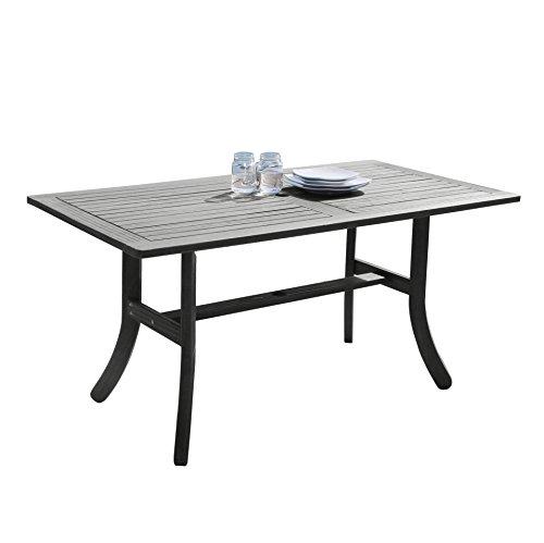 Vifah V1300 Rectangular Wooden Patio Dining Table