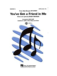 Randy Newman: You\'ve Got A Friend In Me (SATB). Partitions pour SATB, Accompagnement Piano