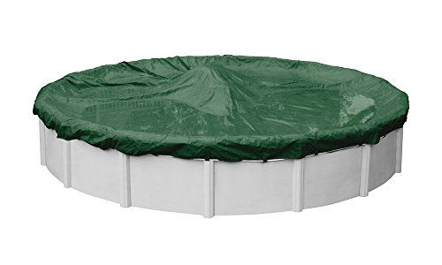 Robelle 3724-4 Supreme Winter Pool Cover for Round Above Ground Swimming Pools, 24-ft. Round Pool