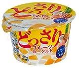 北海道乳業 どっさりフルーツヨーグルト 120g×12個「クール便でお届けします」
