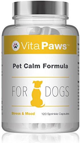 VitaPaws Formula calmante per cani - 120 Capsule facili da aggiungere al cibo - SimplySupplements