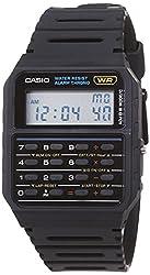 commercial Casio CA53W-1 Men's Vintage Calculator Clock boys casio watch