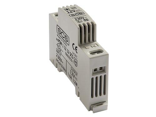 SCS Sentinel SEN4139538 Transfo Alimentation Tableau électrique-Transformateur D'Alimentation 12V 1A PSRD-AAA0001, Gris