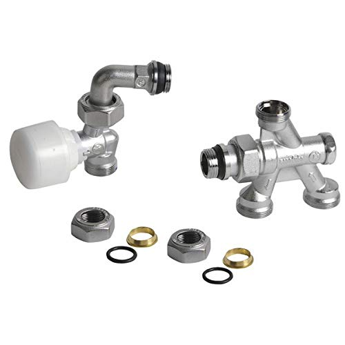 Giacomini - Grifería gas de radiador - Válvula 4 vías R438TG 1/2