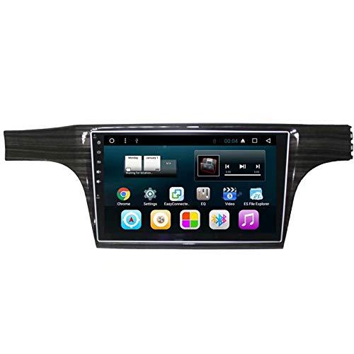 TOPNAVI 16 Go Quad Core Stéréo de Voiture pour VW Lavida 2015 2016 2017 2018 Android 7.1 Autoradio Navigation GPS avec 1 Go de RAM WiFi 3G RDS Lien Miroir FM AM Bluetooth Audio Vidéo